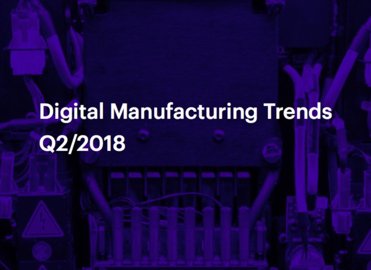 3D Hubs 3D Printing Trends Q2-2018